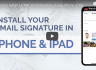 How to Install a HTML Email Signature in your iPhone or iPad's Mail App